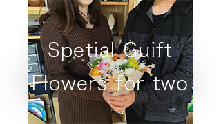 Spetial Guift Flowers for two